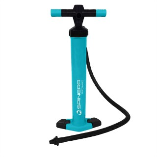 Performance double action pump