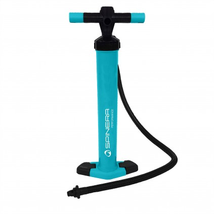 Performance double action pump